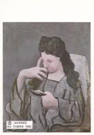 PICASSO--(femme Lisant)--musée De Peintue De Grenoble---voir 2 Scans - Musées