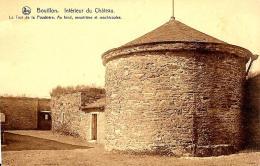 [DC2815] CPA - BELGIO - BOUILLON - INTERIEUR DU CHATEAU - Non Viaggiata - Old Postcard - Bouillon