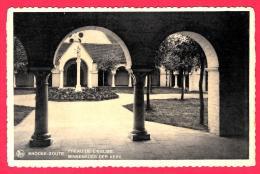 [DC2820] CPA - BELGIO - KNOCKE ZOUTE - PREAU DE L'EGLISE - Viaggiata 1938 - Old Postcard - Knokke