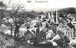 [DC2822] CPA - BELGIO - SPA - PANORAMA N°5 - Non Viaggiata - Old Postcard - Spa