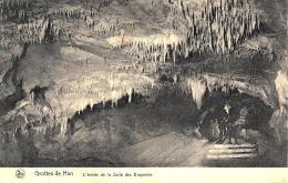 [DC2839] CPA - BELGIO - GROTTES DE HAN - L'ENTREE DE LA SALLE DES DRAPERIES - Viaggiata - Old Postcard - Rochefort