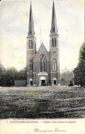 [DC2844] CPA - BELGIO - OOSTACKER LEZ GAND - L'EGLISE NOTRE DAME DE LOURDES - Non Viaggiata - Old Postcard - Gent