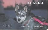 ALASKA(chip) - Alaskan Sled Dogs/Rare Eyes($10.50), Tirage 1500, 12/95, Mint - Telefonkarten