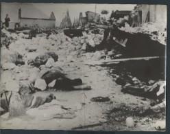 Atrocités à Vassieux En Vercors - Tirage Photo Originale - 24 (L)X18 (H) - Au Coeur De L'histoire - Lot 15723 - Guerre, Militaire