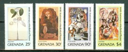 Grenada 1981 Yv 972/975**, Picasso  MNH - Grenade (1974-...)