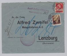 """Schweiz Helvetia Mit Schwert 1916-09-20 Bern NN Vorderseite Zu#135.2.01 Offen """"8"""" - Suisse"""