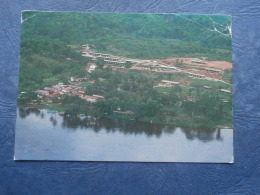 Gabon  Lambarené  Vue Aérienne De L'Hôpital Schweitzer - Circulée 1986 - L256A - Gabon
