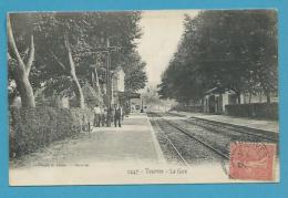CPA 2447 - Chemin De Fer La Gare TOURVES 83 - Other Municipalities