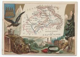 Départements De France/Image Pédagogique/HAUTES ALPES/ GAP/Vers 1880-1890    CRD5 - Autres