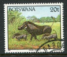 Botswana 1992 Animals - 20t Warthog Used - Botswana (1966-...)