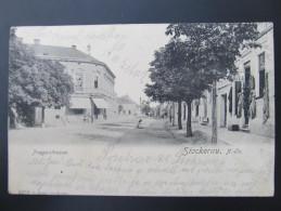 AK STOCKERAU B. Korneuburg Pragerstrasse 1905  /// D*20463 - Stockerau
