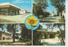 026 - 31 - LABARTHE SUR LEZE - Supérette Midi Prix - Rue Principale - Place De La Mairie - Pont - Francia