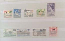 Cook Islands 1966 AIRMAIL OVERPNTE  SET MLH  CV ££24 + IN 2010 - Cookeilanden
