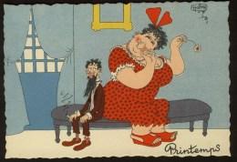 ILLUSTRATEUR - DUBOUT - Printemps - 1958 19A - Dubout