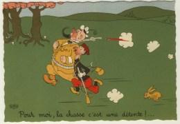 ILLUSTRATEUR - DUBOUT - Pour Moi, La Chasse C'est Une Détente - 1959 35A - Dubout