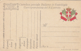 FLAGS, COAT OF ARMS, FRANCHISE PC STATIONERY, ENTIER POSTAL, ITALY - 1900-44 Vittorio Emanuele III
