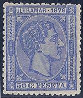 ESPAÑA/CUBA 1876 - Edifil #37 - MNH ** - Cuba (1874-1898)