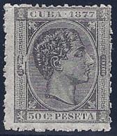 ESPAÑA/CUBA 1877 - Edifil #42 - MNH ** - Cuba (1874-1898)