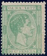 ESPAÑA/CUBA 1877 - Edifil #39 - MNH ** - Cuba (1874-1898)