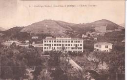 P15-398 - BORDIGHERA - IMPERIA - COLLEGE SAINT-CHARLES - F.P.  VG. X MONACO -  A. 1931 - Imperia