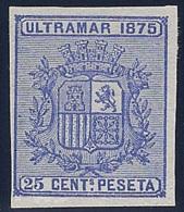 ESPAÑA- CUBA  1875- EDIFIL#32s(**) - Cuba (1874-1898)
