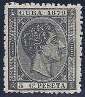 ESPAÑA/CUBA 1879 - Edifil #50 - MNH ** - Cuba (1874-1898)