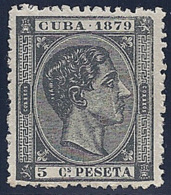 ESPAÑA/CUBA 1879 - Edifil #50 - MNH ** - Kuba (1874-1898)