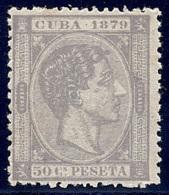 ESPAÑA/CUBA 1879 - Edifil #54 - MNH ** - Kuba (1874-1898)