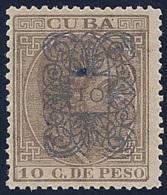 ESPAÑA/CUBA 1883 - Edifil #75 - MLH * - Cuba (1874-1898)