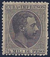 ESPAÑA/CUBA 1883/88 - Edifil #89 - MNH ** - Cuba (1874-1898)