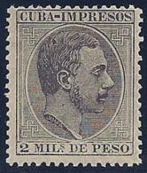 ESPAÑA/CUBA 1883/88 - Edifil #91 - MNH ** - Cuba (1874-1898)