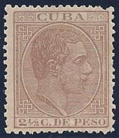 ESPAÑA/CUBA 1883/88 - Edifil #99a - MNH ** - Cuba (1874-1898)
