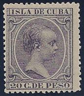 ESPAÑA/CUBA 1890 - Edifil #117 - MNH ** - Cuba (1874-1898)