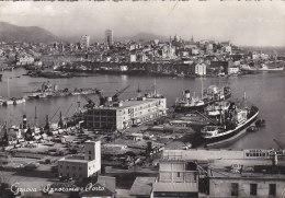 Italie - Genova - Panorama Port Bâteaux - Porto - 1953 - Genova (Genoa)