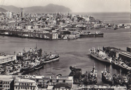 Italie - Genova - Panorama Port Bâteaux - Genova (Genoa)