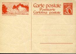 8991, Switzerland,  Stationery Card 20rp. Showing The Watefall Wasserfall Cascade  Rheinfall Bei  Neuhausen - Water