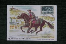 Journée Du Timbre 1964 - Courrier à Cheval Du XVIII è Siècle - Poste & Facteurs