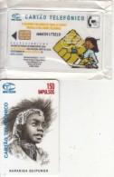 ANGOLA(chip) - Rapariga Quipungo, First Issue 150 Units, Tirage 50000, Mint - Angola