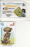 ANGOLA(chip) - Rapariga Mucubal, First Issue 50 Units, Tirage 50000, Mint - Angola