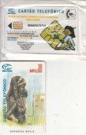 ANGOLA(chip) - Rapariga Muila, First Issue 30 Units, Mint - Angola