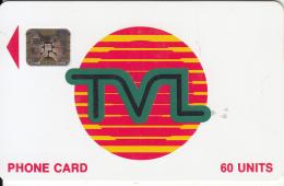 VANUATU - TVL Logo, First Issue 60 Units, CN : 40736, Used - Vanuatu