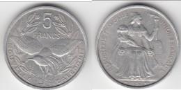 **** NOUVELLE-CALEDONIE - NEW CALEDONIA - 5 FRANCS 1952 - OISEAU CAGOU **** EN ACHAT IMMEDIAT !!! - Nuova Caledonia