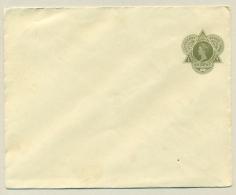 Nederlands Indië - 1915 - 20 Cent Wilhelmina In Driehoek - Gemarmerd Groen Netwerk - Ongebruikt - Indes Néerlandaises