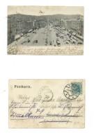 AK Linz A. D. Franz Josef-Platz. - 24.6.1905 - Echt Gelaufen - Linz