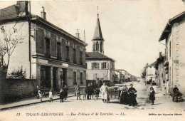 CPA - THAON-les-VOSGES (88) - Aspect De La Rue D'Alsace Et De Lorraine En 1916 - Thaon Les Vosges