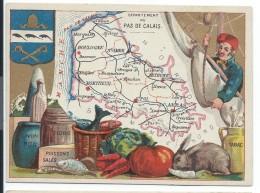 Départements De France/Image Pédagogique/PAS De CALAIS / Arras/Vers 1880-1890    CRD62 - Autres