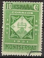 España U 0639 (o) Montserrat. 1931 - 1931-Hoy: 2ª República - ... Juan Carlos I