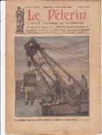 LE PELERIN 5 Septembre 1926 Un Scaphandre Spécial, ND Della Gardia Fait Son Entrée à Tripoli, Pierre L'Ermite En Vacance - Libros, Revistas, Cómics