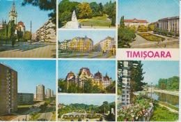 Timisoara Multiview Church Buildings Park Monument Military Monument Memorial - Unused, Perfect Shape - Monuments