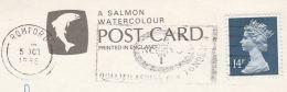1988 Romford GB Stamps COVER SLOGAN Pmk NCVQ QUALIFICATIONS FOR TOMMOROW (postcard Cambridge) - 1952-.... (Elizabeth II)